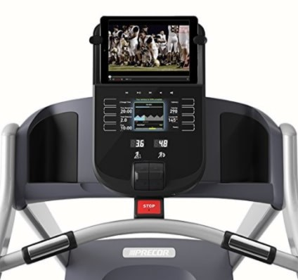 Precor 243 Energy Series Treadmill Display