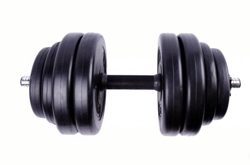 Dumbells are one of the best home gym accessories for personal use