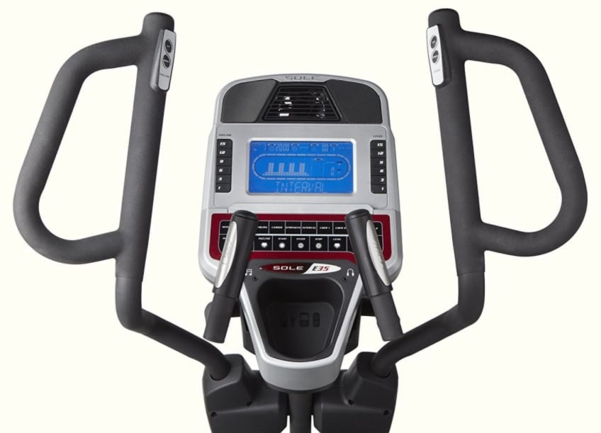 Best Available Elliptical Machine Control Panel Of Sole Fitness E35