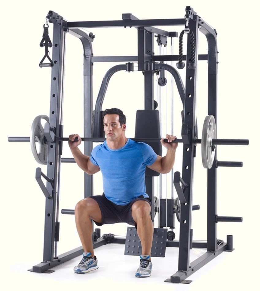 A Smith Machine Like The Weider Pro In This Review Can Help You Gain Strength