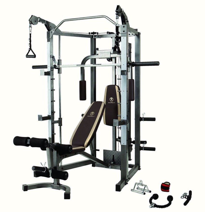 The Marcy SM-4008 Smith Machine - What's In The Box?