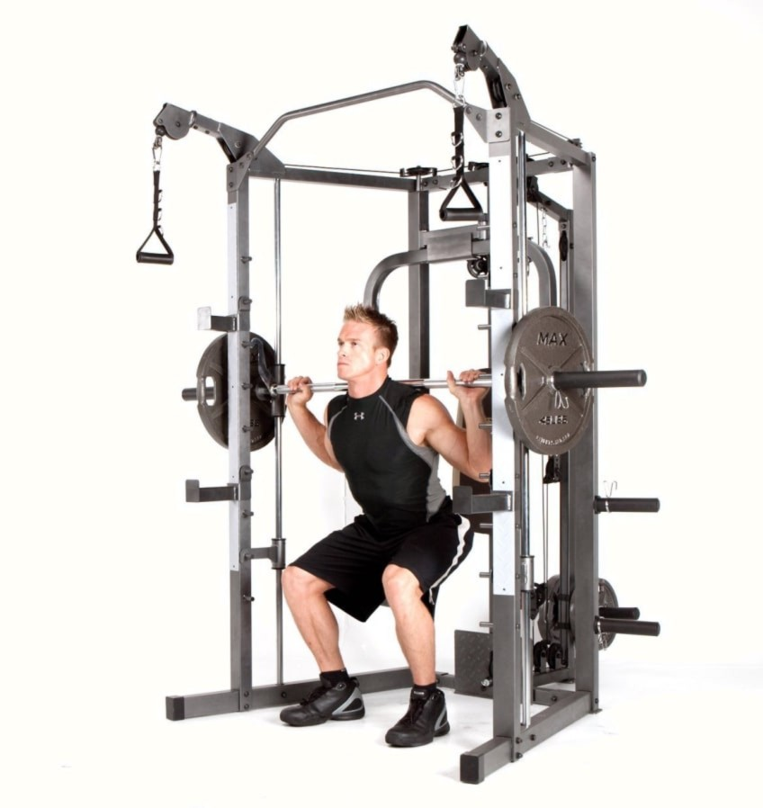 Why Buy An Affordable Smith Machine Like The Marcy SM-4008 ...