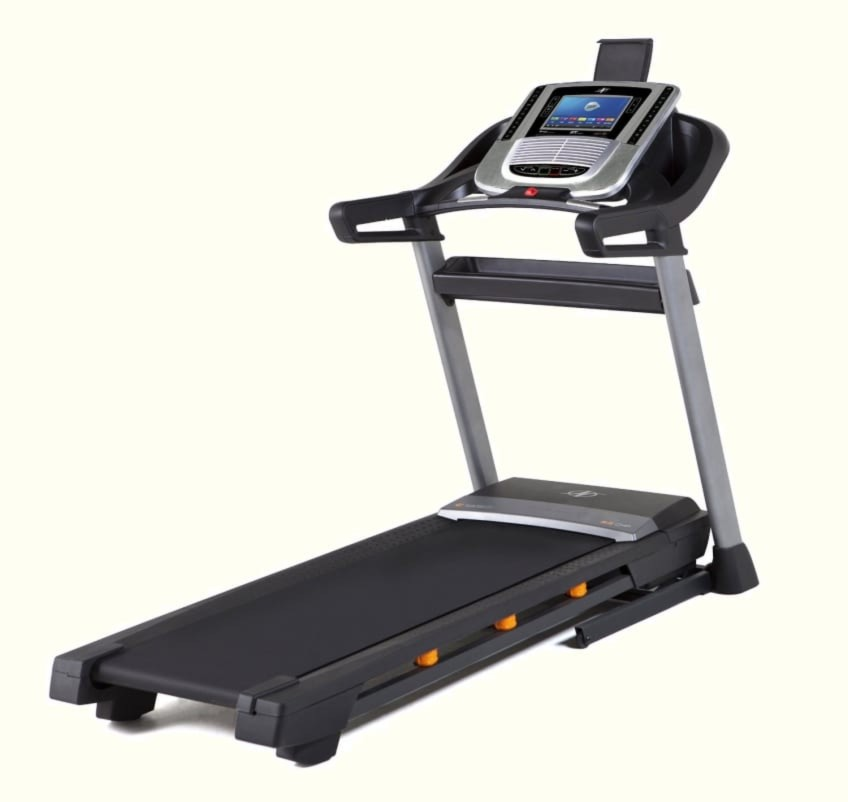 Side Angle View Of The Best Value Treadmill For Home USe NordicTrack C1650
