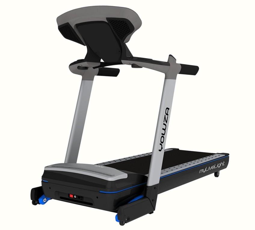 Yowza Fitness Boca Treadmill Side View