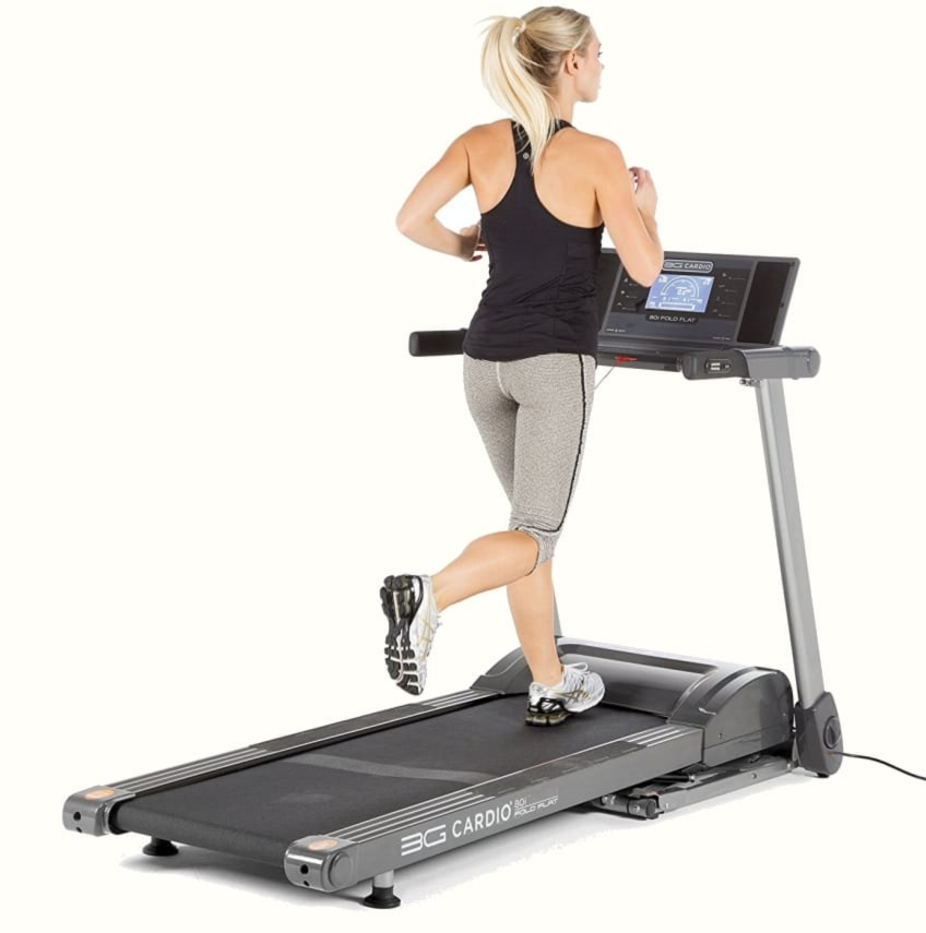 A Fully Functioning Treadmill That Folds Flat? The Space Saving 3G Cardio 80i