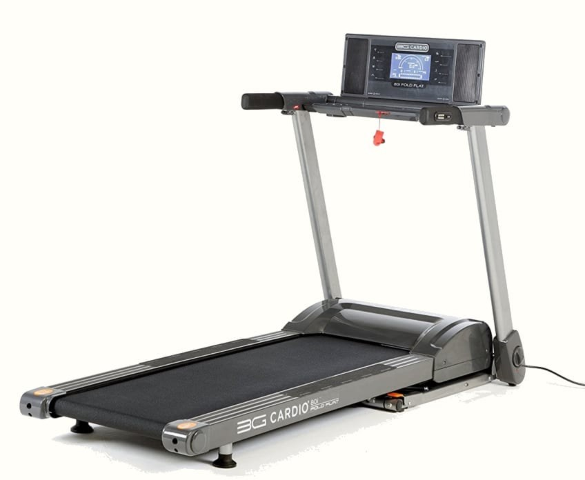 Need To Store A Treadmill Under The Bed? You Can With The 3G Cardio 80i